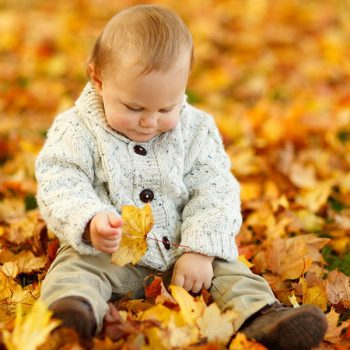 Baby with tree