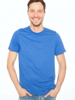 T-Shirt For Man's (blue)