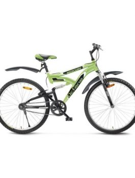 Bicycles Octane Green 26T with Dual Shockers